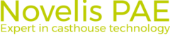 Logo of Novelis, being part of the Aditya Birla Group
