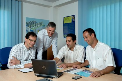 Meeting at Novelis PAE headquarters