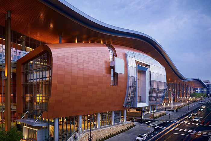 The Music City Center at Nashville, TN, USA