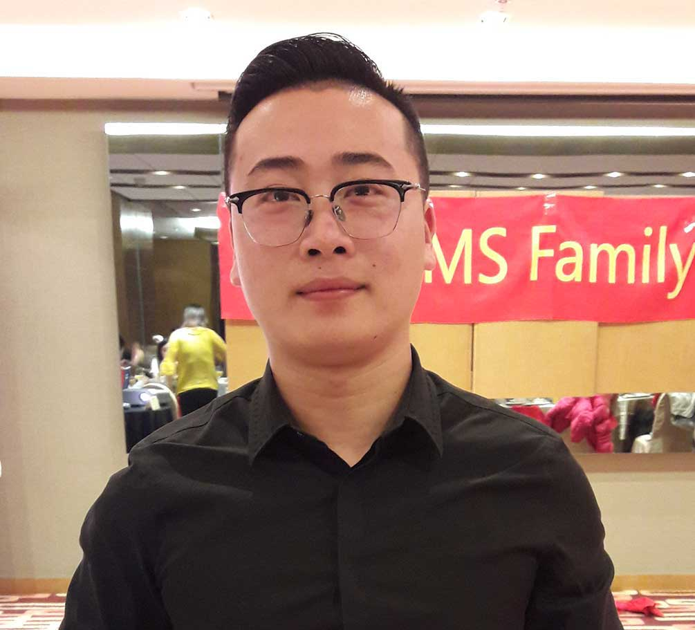 Mr Junior Gu, of Fargo Marketing Services (FMS), wins award for successfully representing Novelis PAE in China