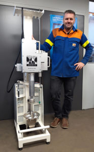 """Read more about the article New generation of """"Hands Free"""" CastingNew Industry 4.0-designed Test Bench for Capacitance Sensors & Flow Controllers"""